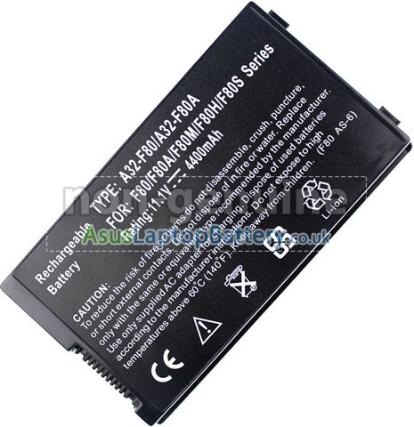 replacement Asus F50 battery