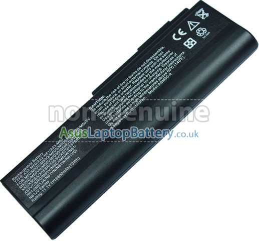 replacement Asus X4GJM battery