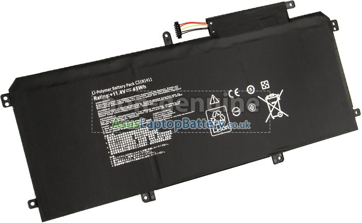 Battery for Asus C31N1411 laptop