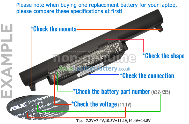 How to find the correct battery battery for asus laptopasus how to find the correct battery battery for asus laptopasus notebook battery at lowest prices with high quality from united kingdomfree shipping and sciox Choice Image