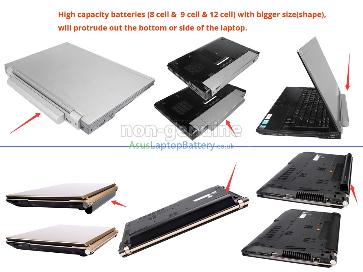 replacement Asus A42-K56 battery